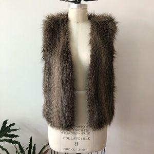 Faux Fur Club Monaco Vest